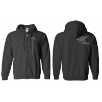 Awesomatix USA Black Zipper Hoodie - XL