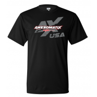 Awesomatix USA Big Boy Black T-Shirt - 5XL