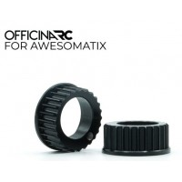 OfficinaRC Alu Bearing Housing for Awesomatix A800 (2)